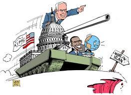 NetanyahuTankObama