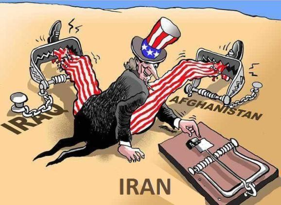Image result for caricature america and war
